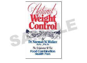 Natural Weight Control Pure and Simple